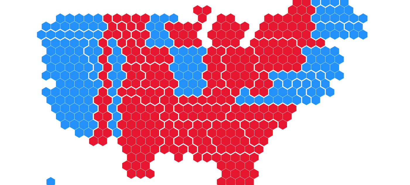 Image of: Mapping The Us Presidential Election The Flourish Blog Flourish Data Visualization Storytelling