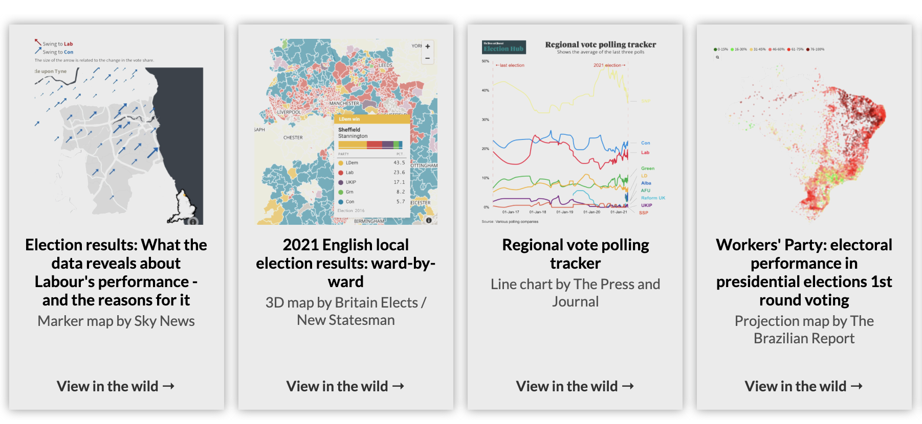 Six ways to cover elections with interactive graphics